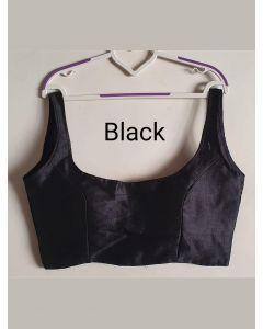 Black Designer Bollywood Blouse