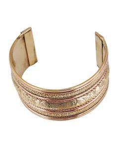 Generic Women's Alloy  Kada Bracelet-Gold