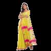 Yellow Soft Cotton Handwoven Cotton Saree